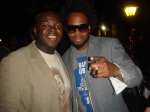 Me and Dwele at the Neo-Soul Concert